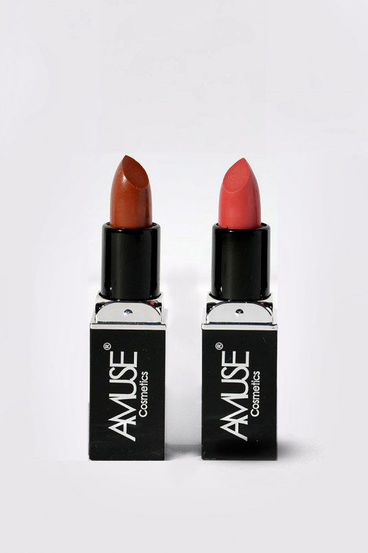 Set de 2 labiales amuse matte - dark