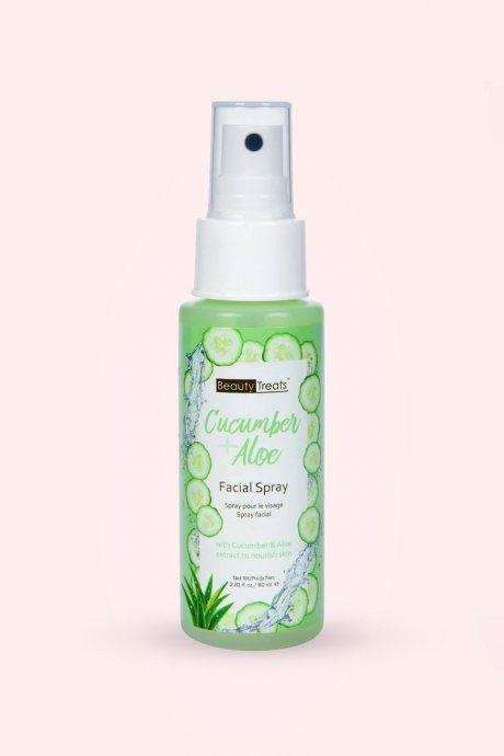 Spray facial de pepino + aloe