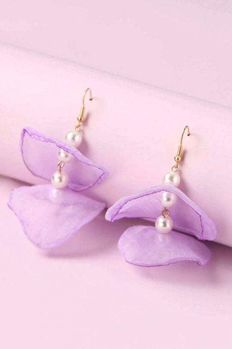Aretes pearl drop