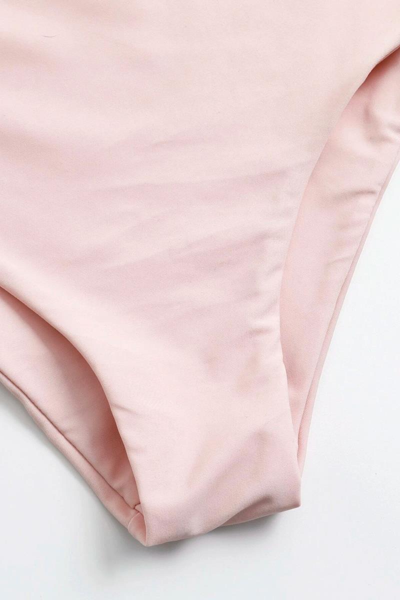 Bikini ruffle high waist