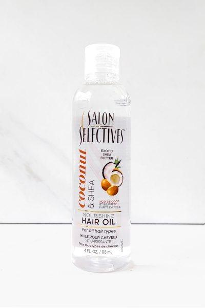 Aceite para el cabello de coco y karite