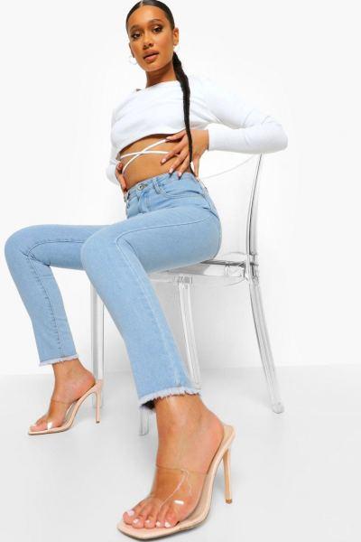Jeans high waist skinny
