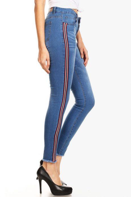 Jeans high waist skinny - SK727